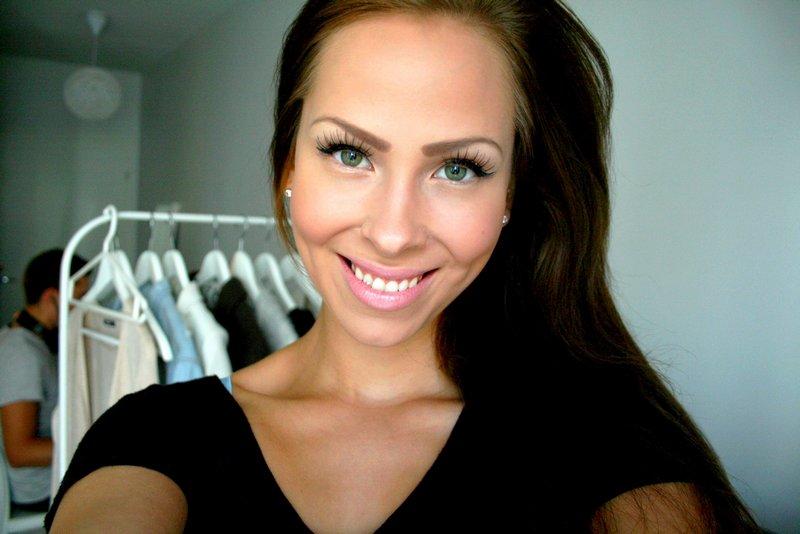 tekoripset meikki arkimeikki helppo