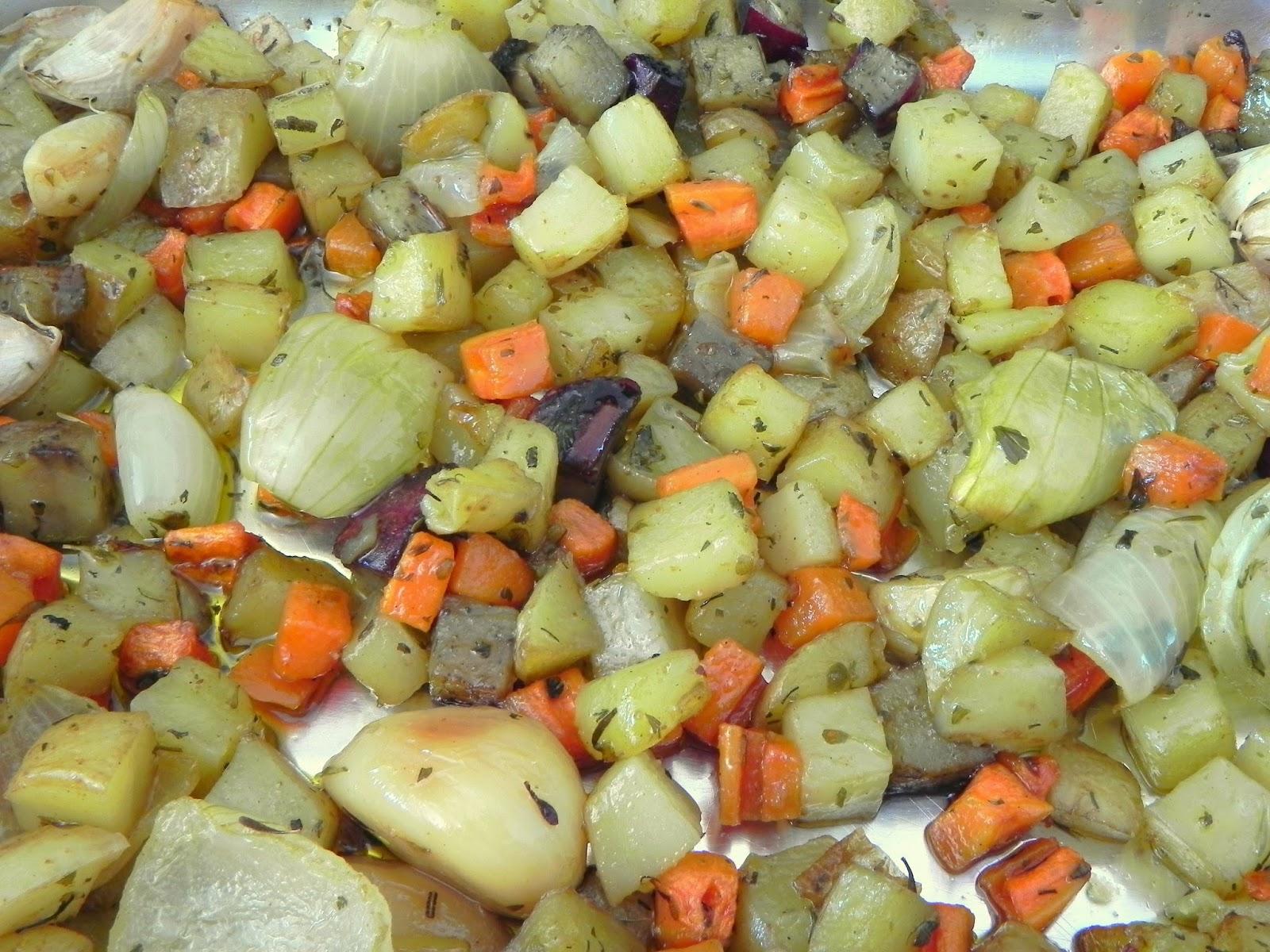 receita de legumes assados