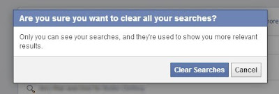 clear your facebook search history - step 5