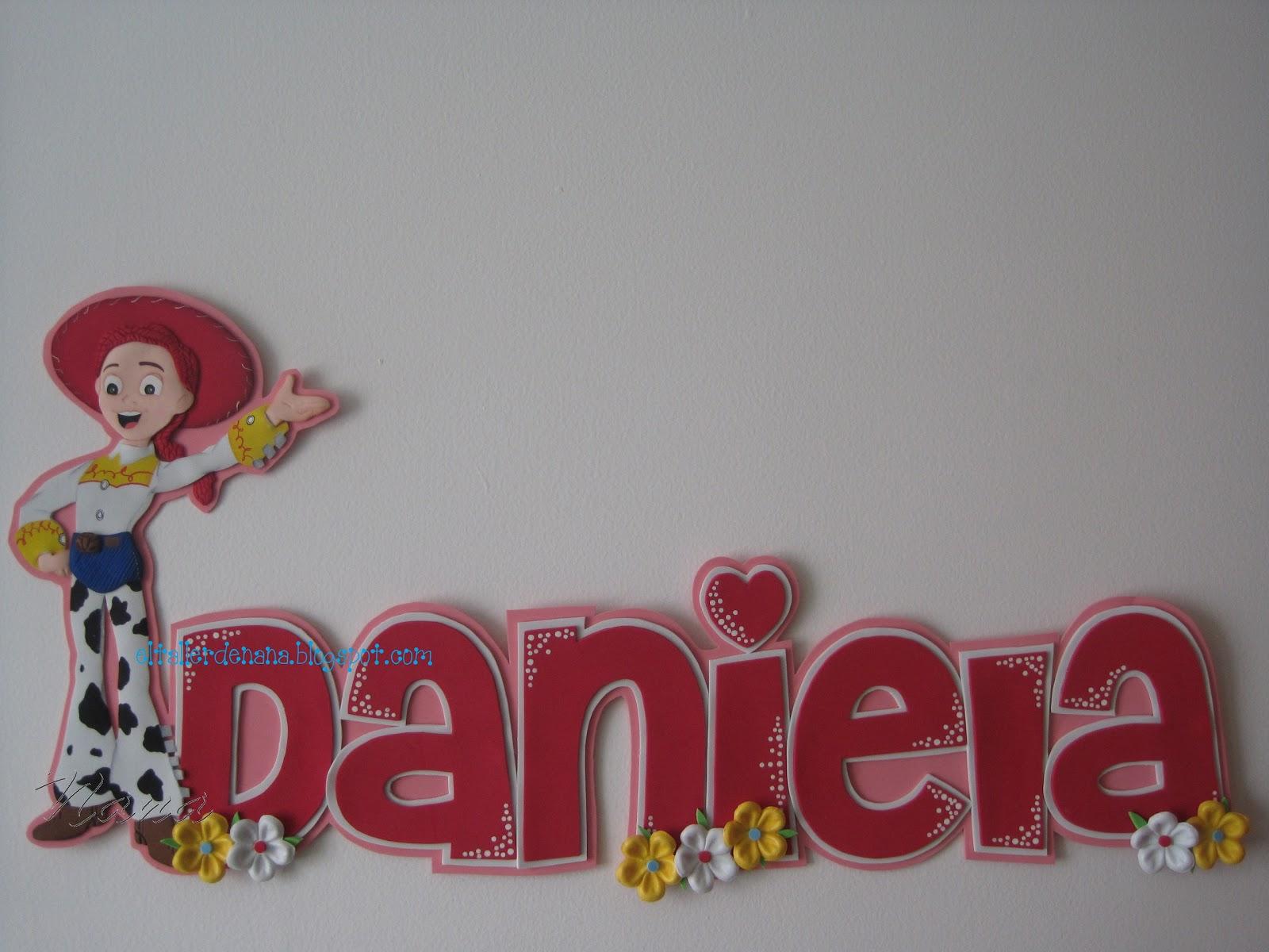 Etiquetas  Nombres En Goma Eva   Toy Story