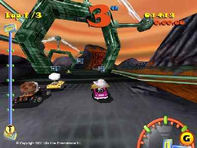 Toon Car  wallpapers, screenshots, images, photos, cover, poster