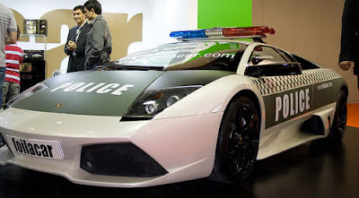Lamborghini-Murcielago-Police-Car-White