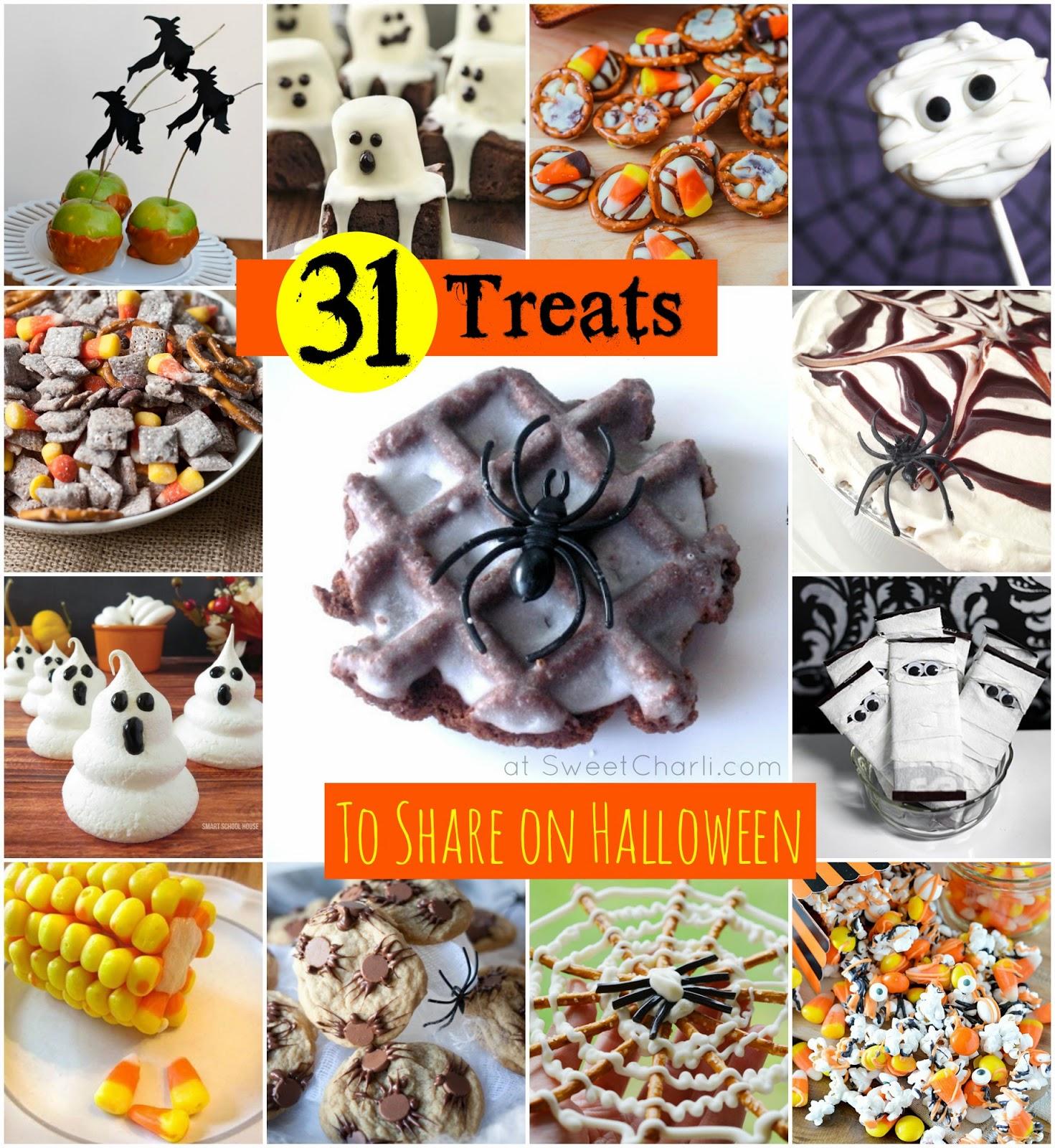 31 halloween treat ideas for Creative ideas for halloween treats