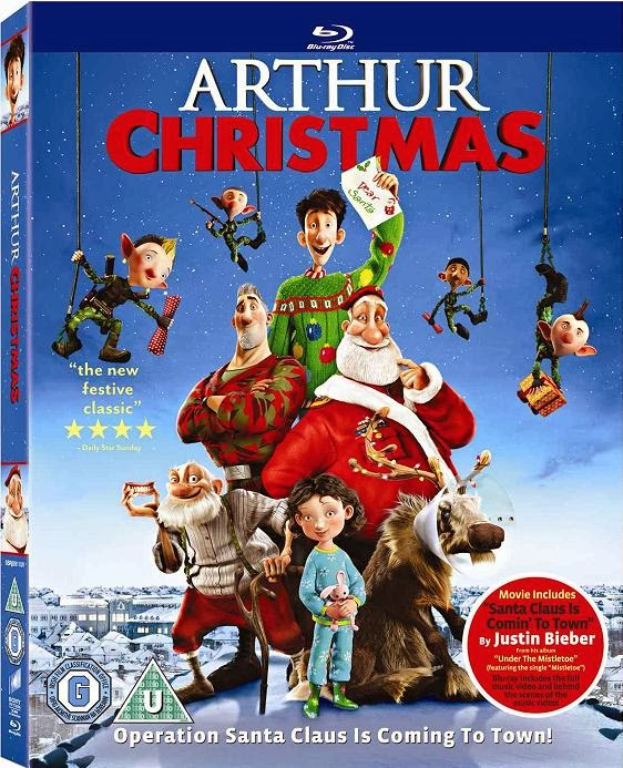 Arthur Christmas: Operación Regalo (2011) 1080p BRRip 2.8GB mkv Dual Audio AC3 5.1 ch