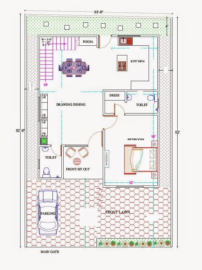 House plans in india residential house design plans for Residential building plans in india