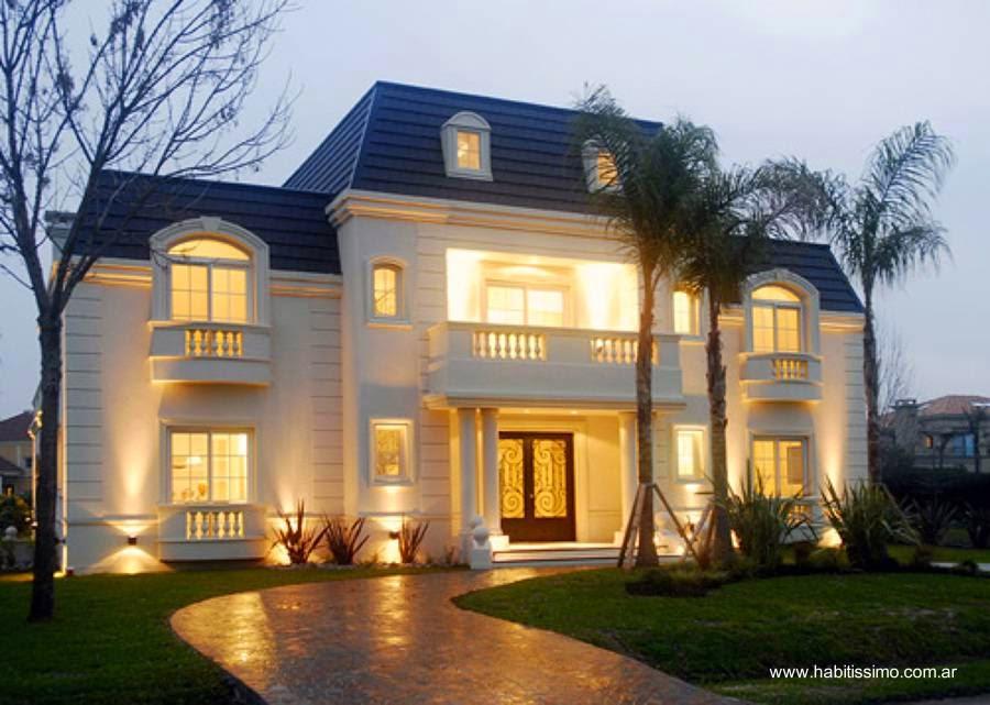 Arquitectura de casas casa de estilo franc s en buenos aires for Estilos de casas contemporaneas