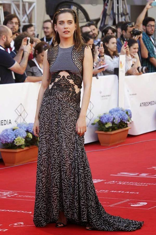 María León de Stella McCartney en el Festival de Cine de Málaga 2015