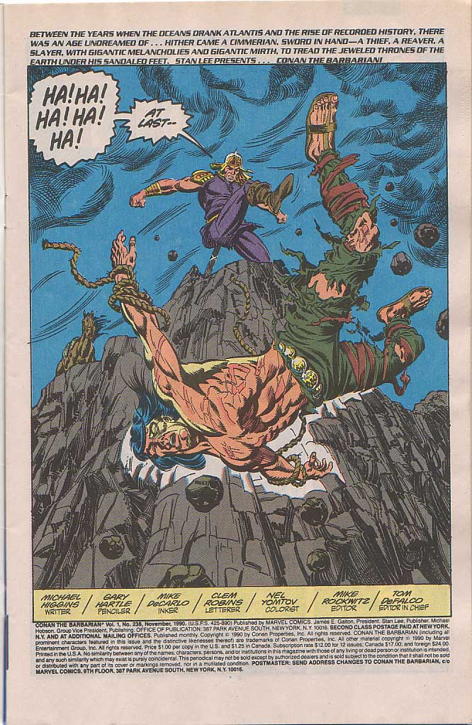 Conan the Barbarian (1970) Issue #238 #250 - English 2