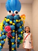 Under the SeasRoving Balloon Sea Creatures (octopus balloon )