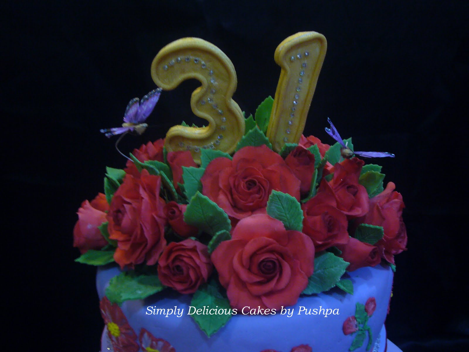 Simply Delicious Cakes 31st Wedding Anniversary