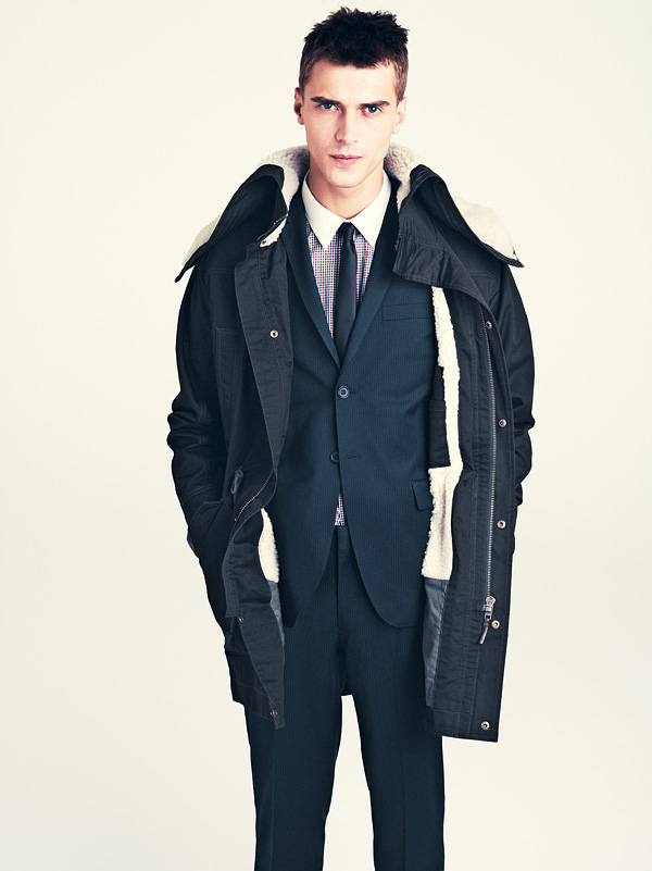 Suits are also weared at the time of winter as a formal winter wear