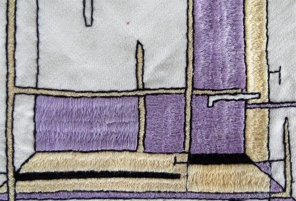 byzantine stitch, byzantine embroidery, cretan stitch, cretan embroidery