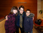 Vicio (Fernando Bazán) con mi hermano y yo.