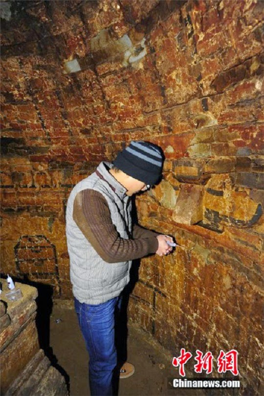 Ancient tomb complex unearthed in Beijing