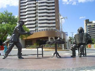 Praça Jackson do Pandeiro e Luiz Gonzaga