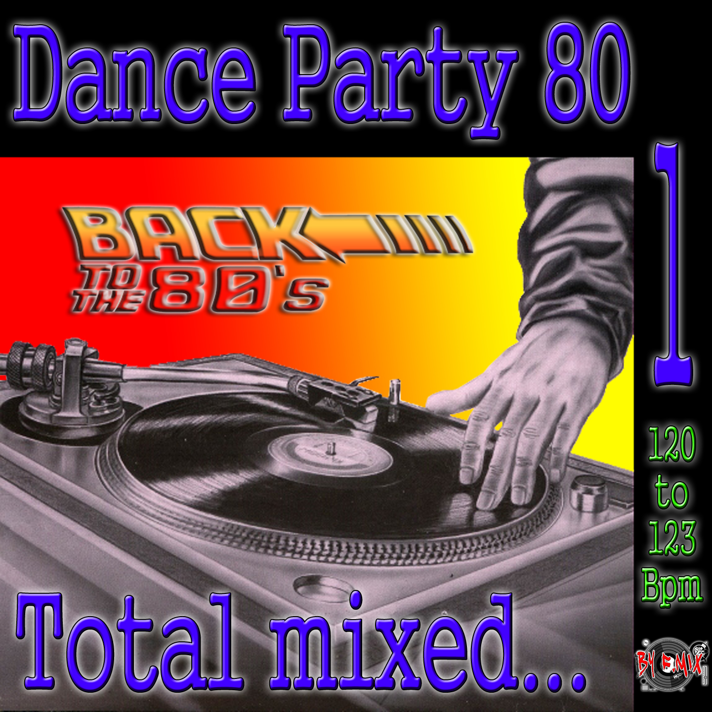 By f mix dance party 80 by f mix for Acid house bpm