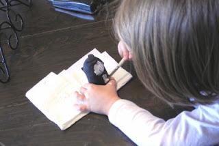 Kids Craft Painting Penguin