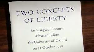 four essays on liberty two concepts of liberty