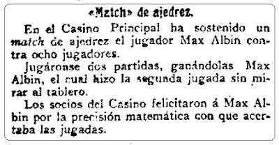 Recorte de La Correspondencia de España, 17 de octubre de 1910