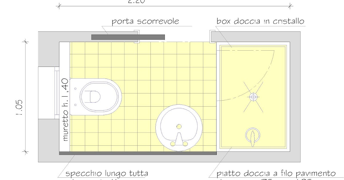 La casa da vivere 8 consigli per realizzare un bagno in piu 39 - Misure bagno minimo ...