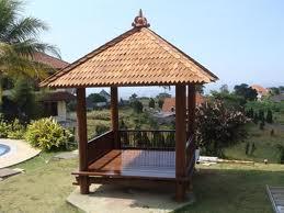 Gazebo Kolam renang taman kolam rumah