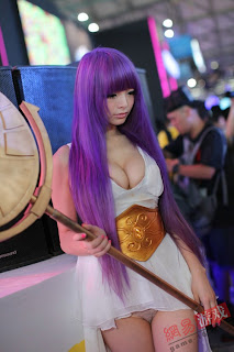 Sexy cosplay oriental