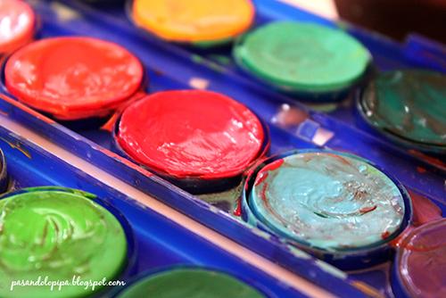 pasandolopipa : acuarelas después de pintar