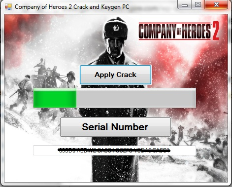 Company of Heroes serial number -