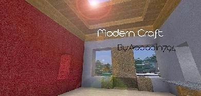 Modern Craft HD Resource Pack