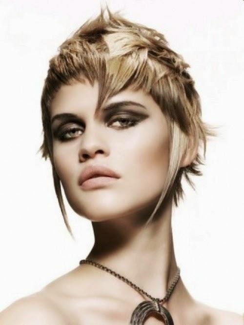 Wavy Choppy Hairstyles : Short choppy hairstyles latest