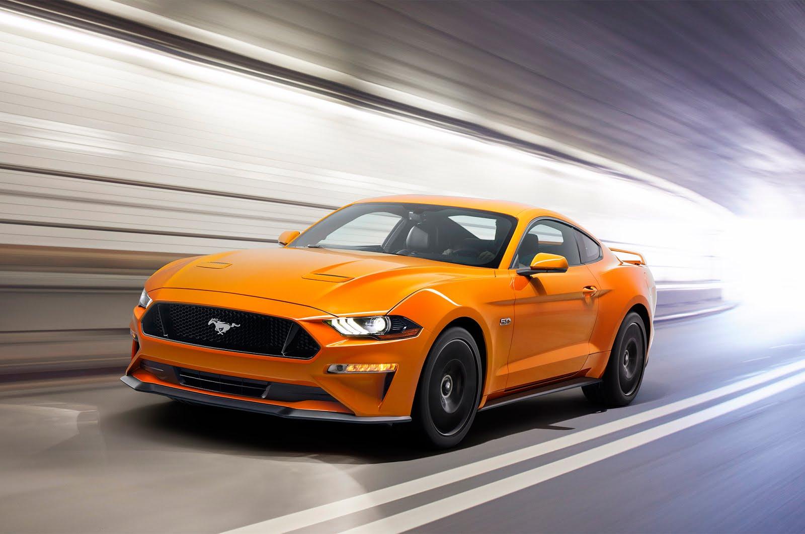 Mustang V8 2018
