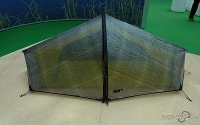 Zelt aus Cuben