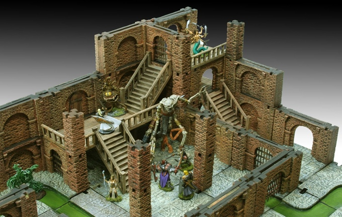 Under Siege Modular Dungeon Terrain