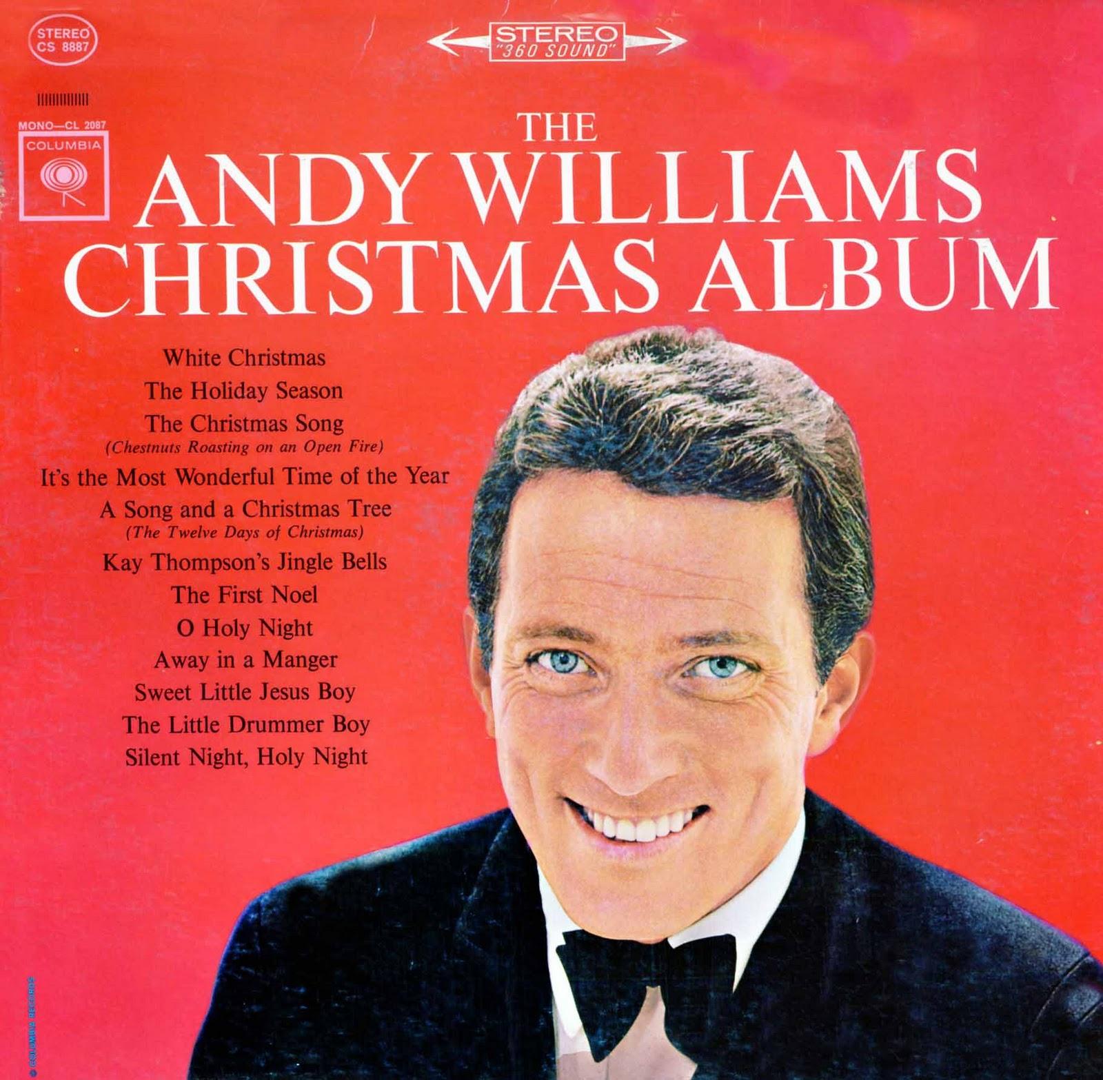 Andy Williams Christmas Cd