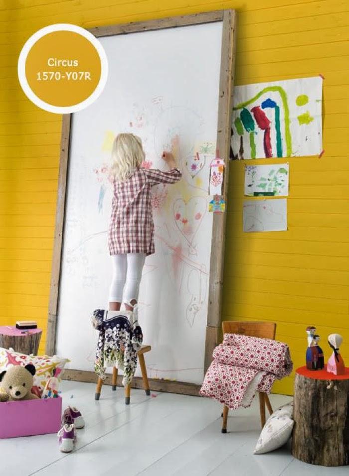 kleuren voor kinderkamer Histor