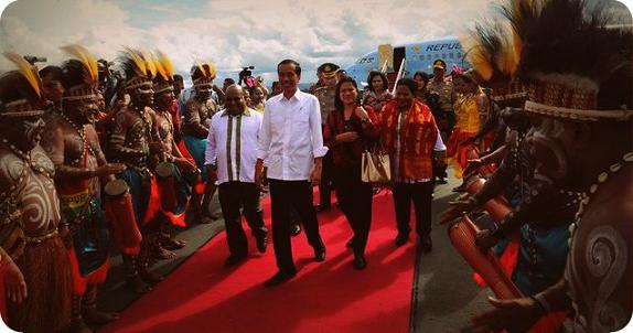 Para Kepala Suku Minta Presiden Joko Widodo Hadiri Mubes Pimpinan Adat