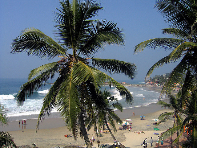 Beaches in Kovalam Kerala. Enjoy your holiday with us