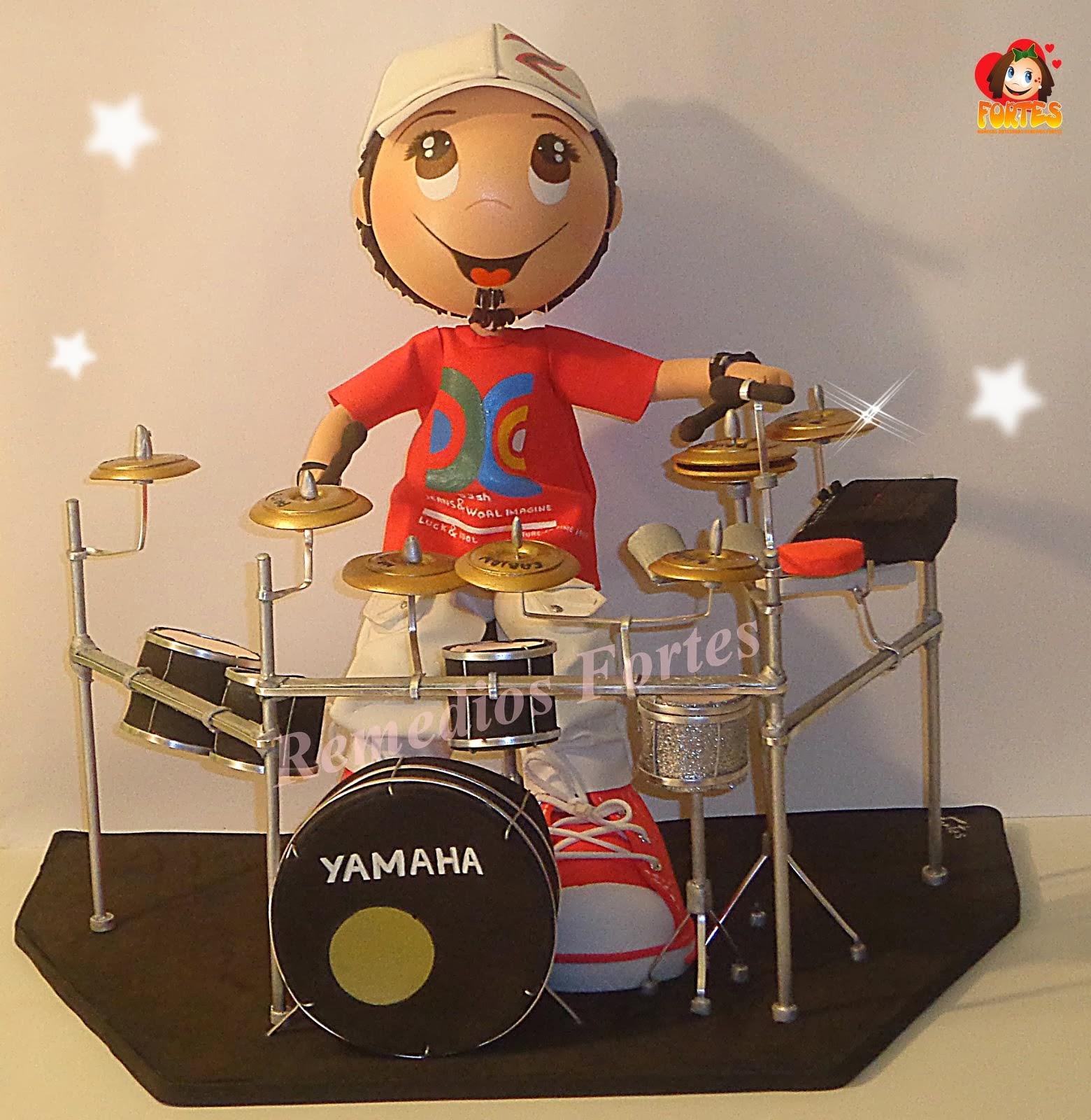 Oscar y su batería