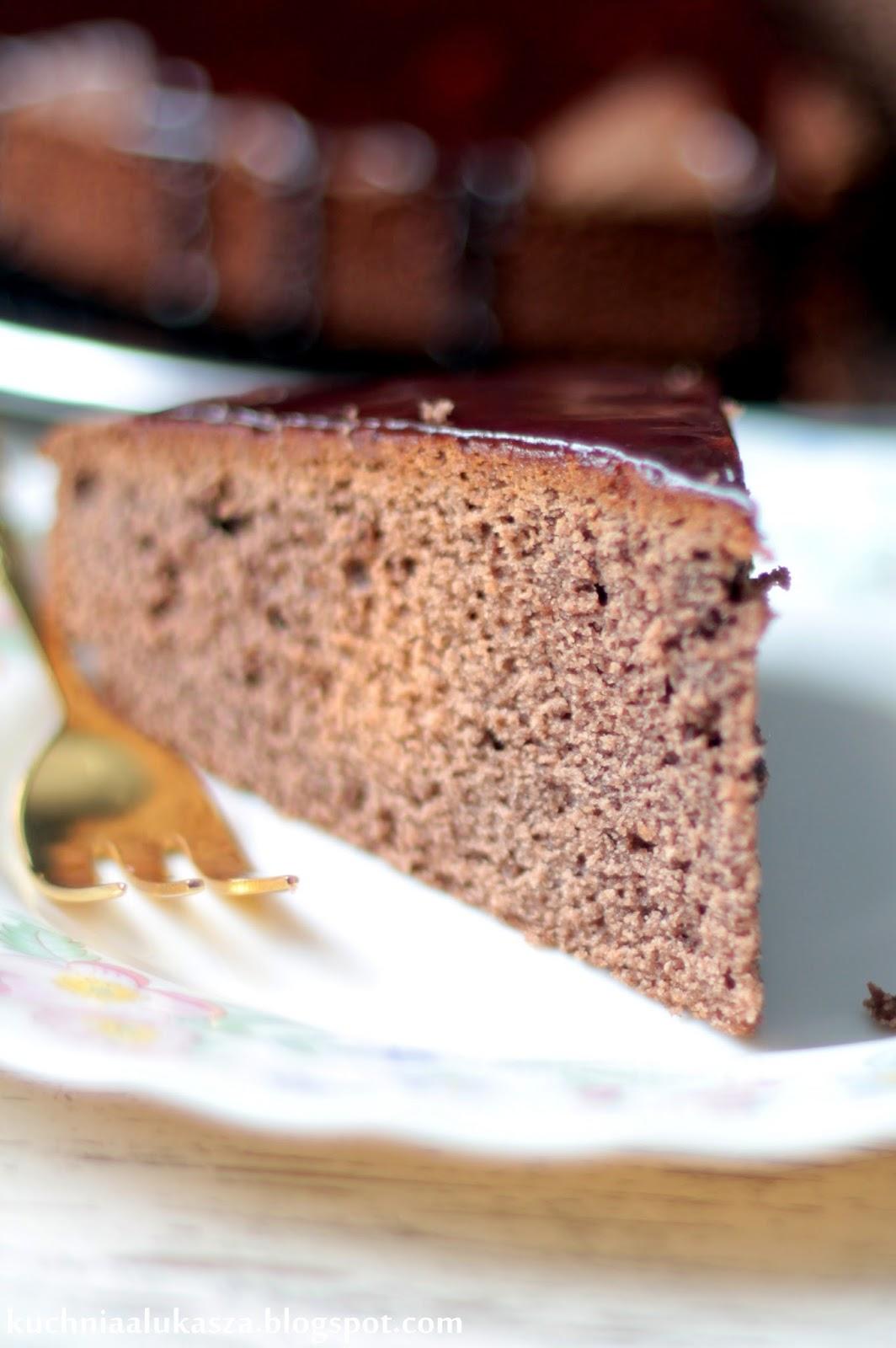 Ciasto czekoladowo-kawowe.