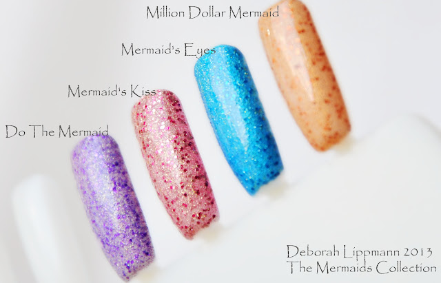 Deborah Lippmann 2013. THE MERMAIDS COLLECTION
