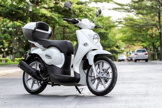 Những mẫu xe máy không cần bằng lái tại Việt Nam