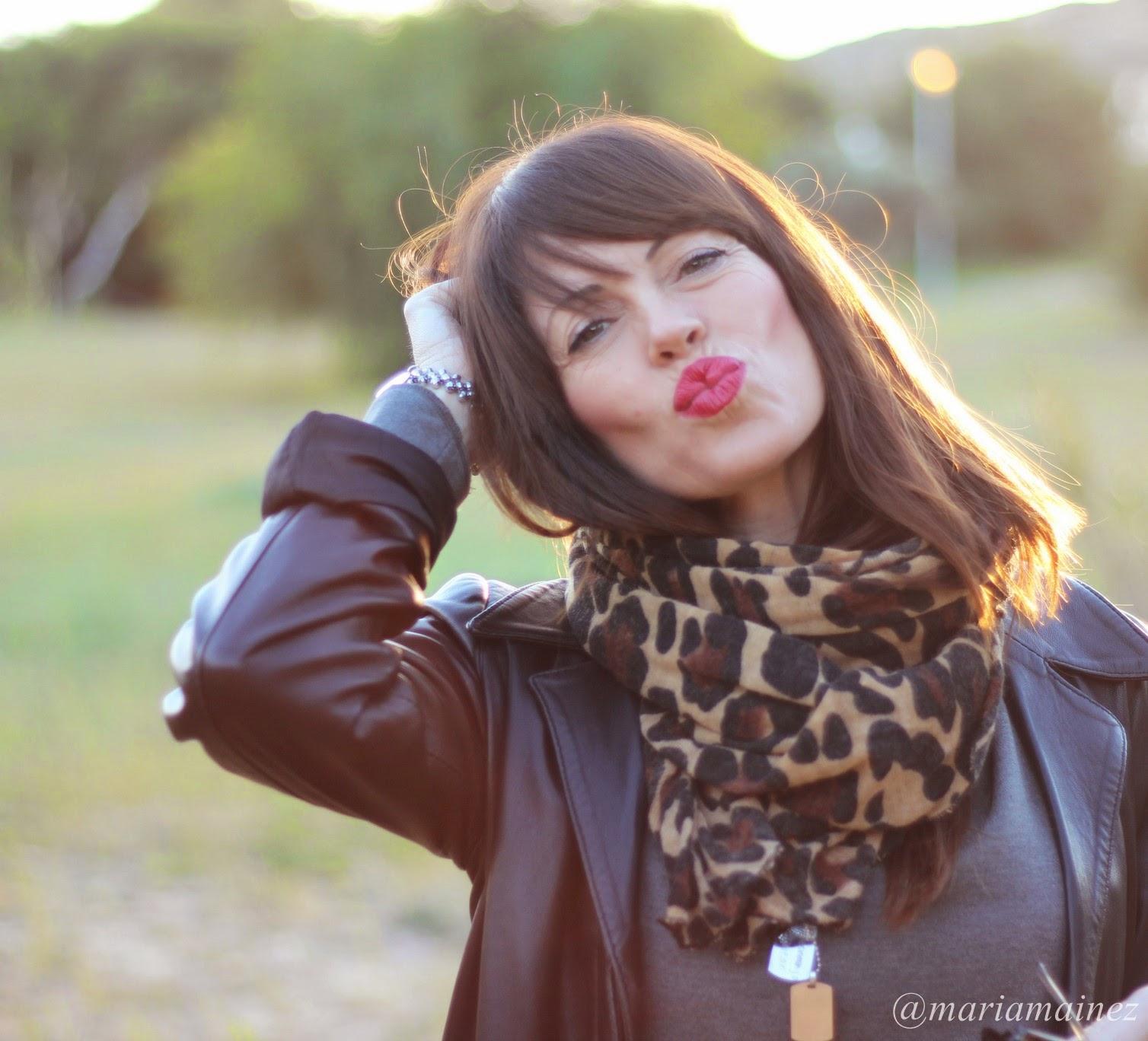 Jumpsuit Zara - Streetstyle - Leopard print - Fashion Blogger - kiss