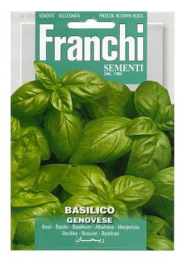 Italian Basil seeds