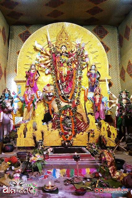 Ama Medha: 48th Annual Kanak Durga From Janhia, Salipur, Cuttack - Photo By OdiaPortal Team