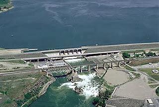 american falls dam in idaho