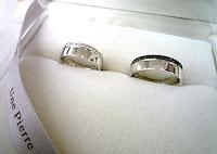 オーダーした結婚指輪(マリッジリング)が出来上がりました。