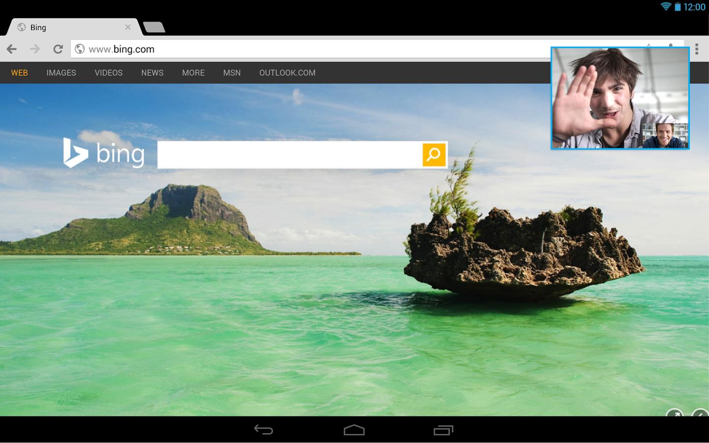 Skype Android Apk resimi