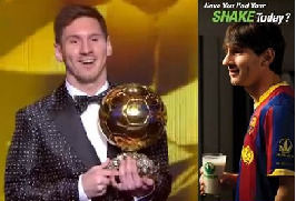 Leo Messi wins his FOURTH Ballon d'Or! Powered by Herbalife...