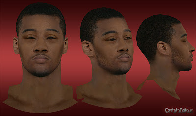 NBA 2K13 John Wall Cyberface Mod