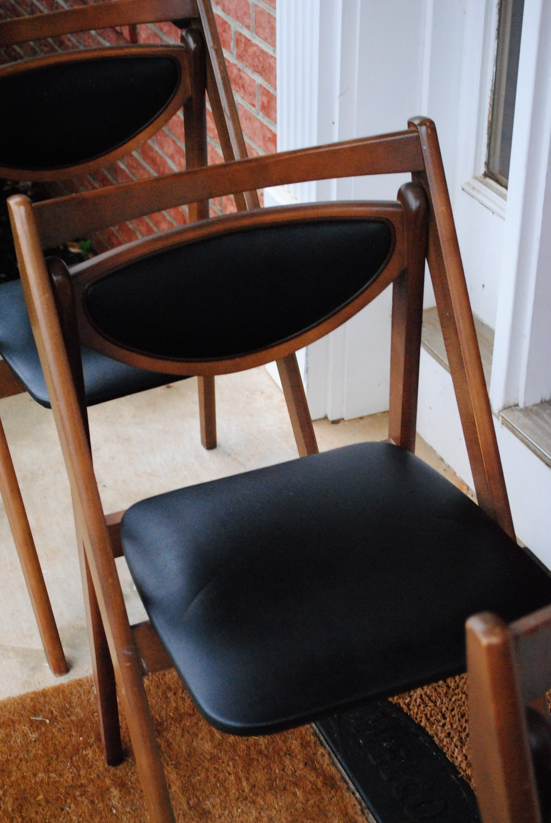 Mid Century Modern Finds 3 Vintage mid century Stakmore folding chairs $160